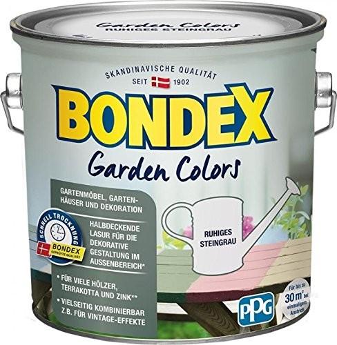 Bondex Garden Colors ruhiges Steingrau 2,5 l