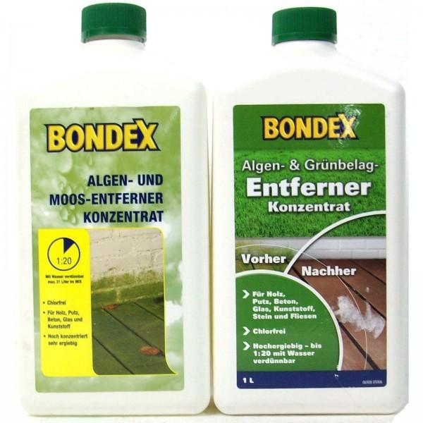 Bondex Algen & Grünbelagentferner Konzentrat 1 l