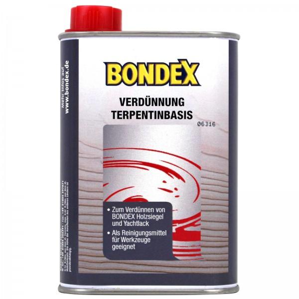 Bondex Verdünnung Terpentin Basis