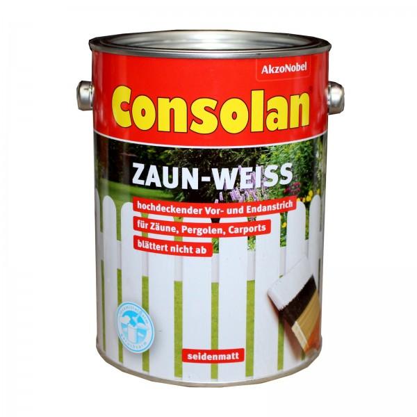 Consolan Zaunweiss 2,5 Liter
