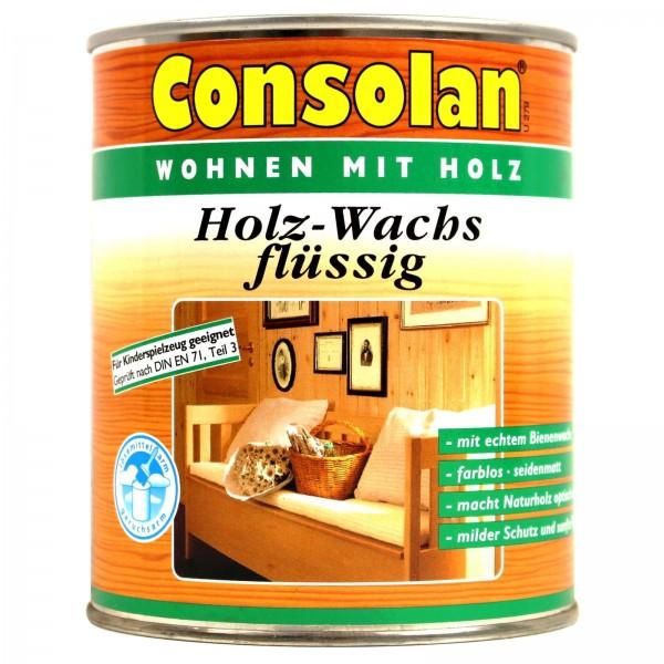 Consolan Holz Wachs flüssig seidenmatt 2,5 l