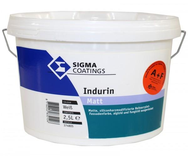 Sigma Indurin A+F weiss matt Fassadenfarbe