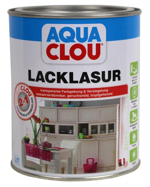 Clou Aqua Combi Clou L17 - Lacklasur für Holz 0,75 l