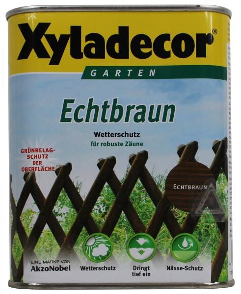 Xyladecor Echtbraun Holzschutzlasur