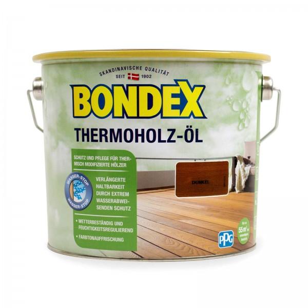 Bondex Thermoholz öl dunkel 2,5 l
