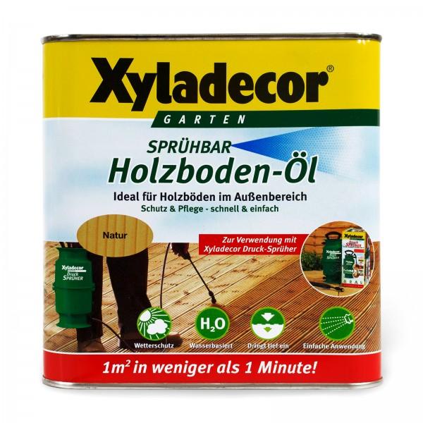 Xyladecor Holzbodenöl sprühbar 2,5 l