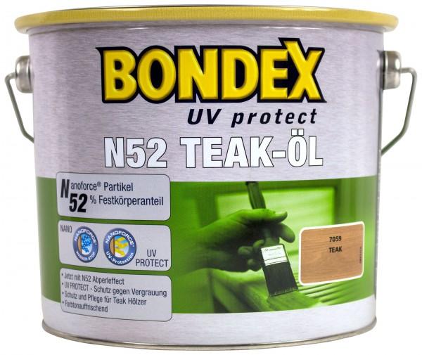 Bondex N52 UV Teaköl 2,5 l