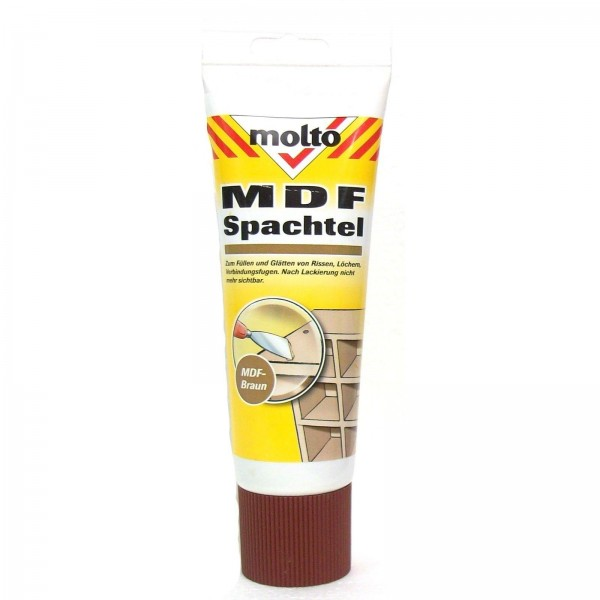 330g Molto MDF Spachtel MDF braun
