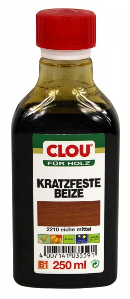 Clou B1 Kratzfeste Beize
