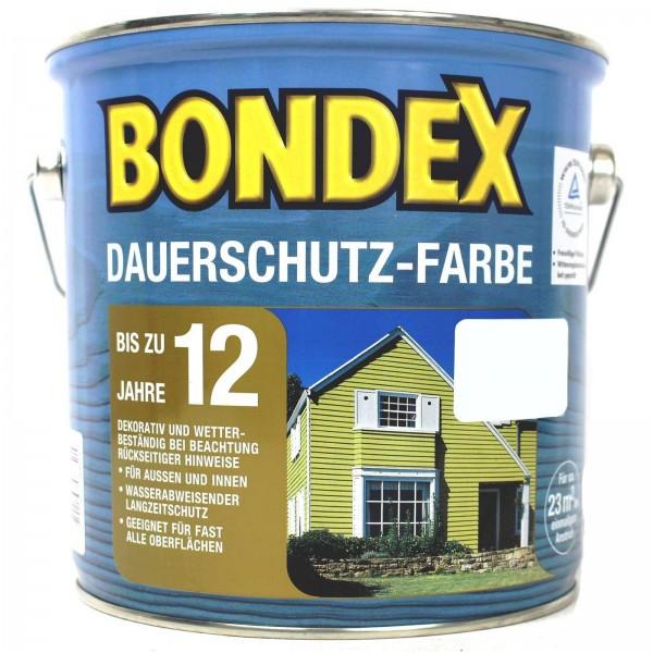 Bondex Dauerschuzfarbe schneeweiss