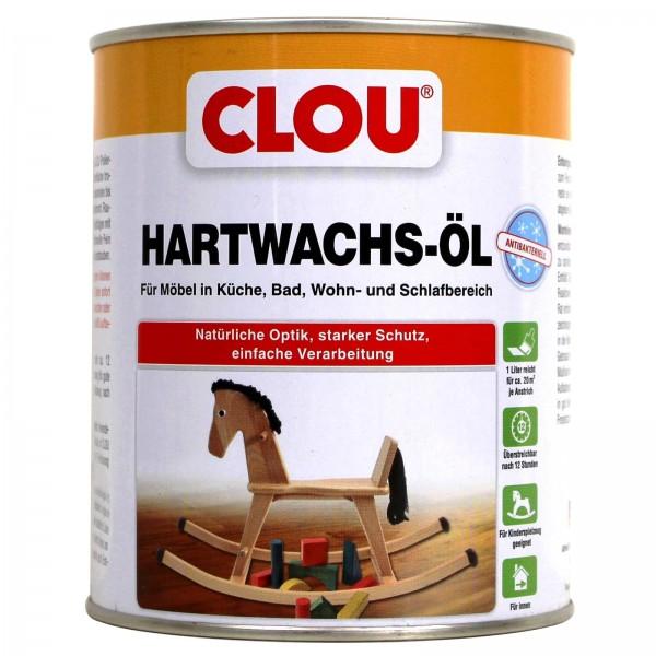 Clou Hartwachsöl antibakteriell farblos 0,75 l