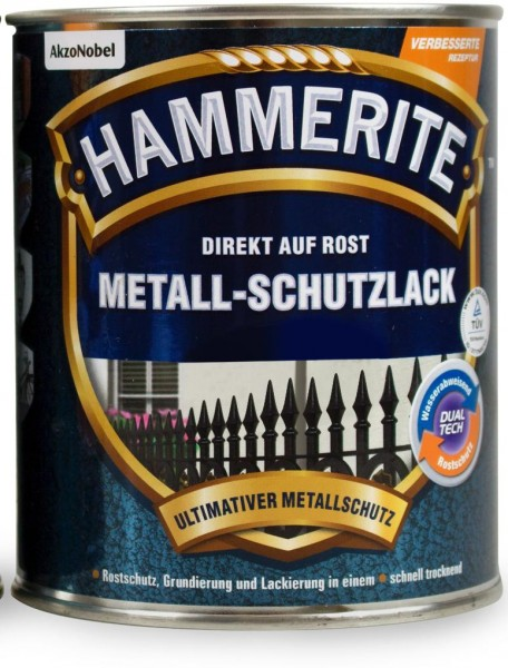 Hammerite Metallschutzlack Struktur Effekt